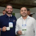 Gabriel Cordeiro, da BWT Operadora, e Roberto Oliveira, da Travel Ace
