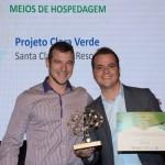 Gabriel Werner, do Pampas Hotel Fazenda, e Rafael Gonçalves, Projeto Clara Verde