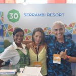 Gabriela Maria, Monica Piccinna e José Inácio do Serrambi Resort