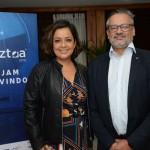 Gabrielle Nunes e Bob Santos, do MTur