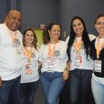 Gelder Carvalho, Leiliana Arruda, Jucilene Aires, Cintia Botelho e Neula Valente, da Affinity