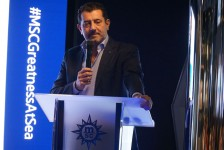 Brasil é mercado estratégico para crescimento da MSC, diz CEO; fotos
