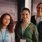 Gideine Fernandes, da Dar Tur, Luma Rosa, da Islatur, e Luana Mischiatti, da Vita Novus
