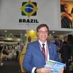 Gilson Machado Neto, presidente da Embratur, marcou presença no primeiro dia com diversas reuniões realizadas
