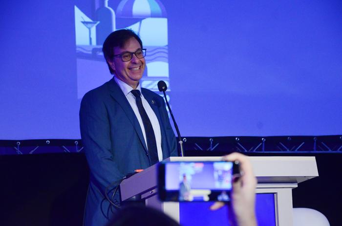 Gilson Machado Neto, presidente da Embratur durante o Meeting Festuris