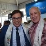 Gilson Machado Neto, presidente da Embratur, e Herculano Passos deputado Federal