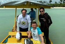 Embratur visita APA Costa dos Corais e não constata óleo no mar