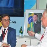 Gilson Machado em reunião com Roy Taylor