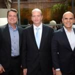 Gleyson Ranieri, da Air Canada, Ralf Aasmann, da Air Tkt, Nelson Oliveira, da Alitalia