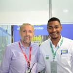 Gustavo Esusy, da Avianca, e Juliano Braga, do M&E