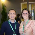 Gustavo França e Sandra Roscito, da BWH Hotel