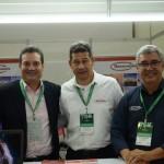 Henrique Rocha, Pablo Ayala e Valter Sampaio, da Transeuropa