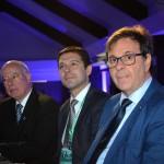 Herculano Passos, Eduardo Zorzanello, e Gilson Machado Neto, presidente da Embratur