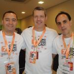 Herivelto Santos, Ricardo Astorino e Wilson Ramos, da Affinity