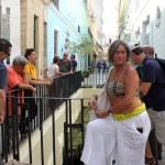 Delegação brasileira durante city tour no primeiro dia de Fam