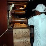 Orgão musical antigo no Complexo La Cecilia