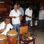 Músicos animaram o jantar no Complexo La Cecilia