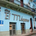 Cinema desativado no centro velho de Havana