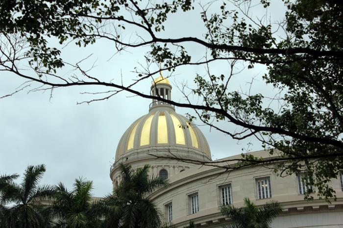 O capitólio cubano foi recentemente restaurado e aberto ao público