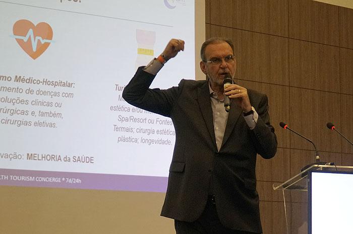 Ibrahim Tahtouh, presidente da BHT Brasil Health Tourism Concierge