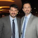 Ignacio Palacios e Eduardo Simões, da MSC