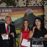 Javier Yepez, Fanny Thivierge e Milagros Ochoa