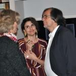 Jean Philippe Pérol e Caroline Putnoki conversam com Natalia Pisoni