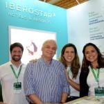 João Faria, Orlando Giglio, Carla Reis, e Nathália Lemeszenski, do Iberostar