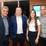 Joaquim Domingos, Anderson Serafim, Cristiane Silveira e Valcir Teixeira, da Azul