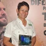 Joice Marques, da Joice Pesca & Tur, vencedora na categoria Agências e Operadoras