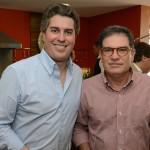 Juarez Cintra Neto, presidente do Grupo Ancoradouro, e Ricardo Canto