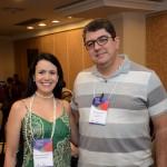 Juliana Assumpção e Marcos Lucas, da Aviesp