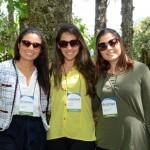 Julieta Ruiz, Bruna Neves, e Elaine Accacio, da Iberostar