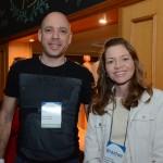 Julio Teixeira, da Latam Travel, e Elisa Dettoni, da ONU Meio Ambiente