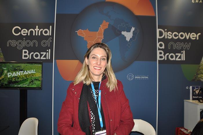 Karla Cavalcanti, gerente de Mercado da Fundação de Turismo de Mato Grosso do Sul