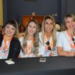 Karol Braga, Myllena Guimarães, Ana Paula Teixeira e Valéria Pereira