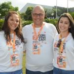 Karolin, Washington Marcilio e Beatriz Hernandez, da Affinity de São José dos Campos