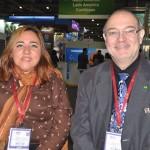 Kelma da Silva, da Secretaria de Turismo do Amazonas e João Araújo, diretor de Turismo de Manaus
