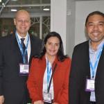 Lawrence Reinisch, Paula Floriano e Claudio Junior, da BTM