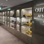 Lojas a bordo, inclusive outlet