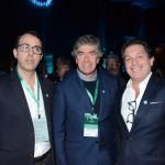 Luís Antunes, de Lousã, Pedro Machado, da ARPT, e Bernardo Cardoso, diretor do Turismo de Portugal