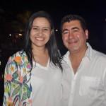 Luísa Molina, Fine World (Colômbia) e Ruben Aguilera, da Terra Travel (Argentina)