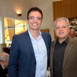 Lucas Paci, da Tyller, e Carlos Prado, da Tour House e Abracorp