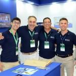 Lucas de Almeida, Roberto Affonseca, Newton Santos e Vitor Spirandelli, da MSC