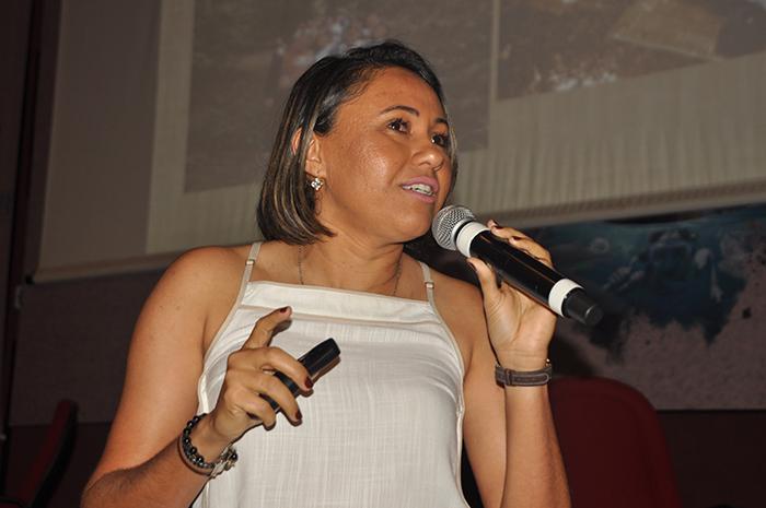 Luciana Balbino, coordenadora do projeto de Turismo Criativo em Chã de Jardim