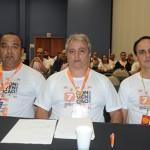 Luiz Américo, Alexandre Brum e Wilson Ramos, da Affinity