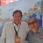 Máximo Pelletteri, presidente do Grupo Armação, com o gerente geral, Luiz Carlos