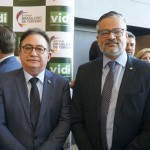 Manoel Linhares, da ABIH, e Bob Santos, do MTur