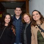 Marília Zazzera, da Incomun, Andre Lima, da Braztoa, Marta Mello, e Roberta Tânus, da Braztoa