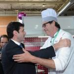 Marcelo Álvaro Antônio, ministro do Turismo, com Alexandre Tuma Ness